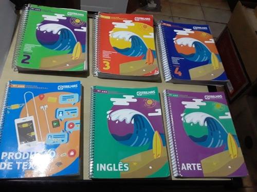 Livros Trilhas Sistema De Ensino 9º Ano - 06 Volumes