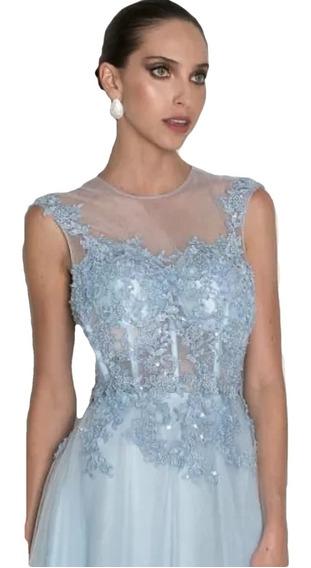 Vestido Madrinha Formatura Debutante Serenit Rosa Corselet