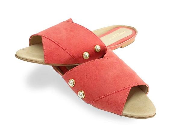 Sandalias De Mujer Destalonadas Zuri Apricot