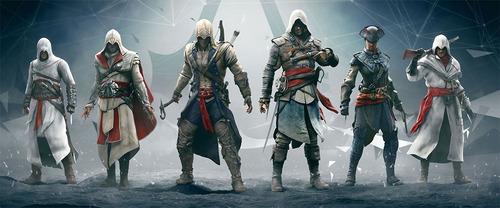 Imagen 1 de 2 de Assassins Creed Billetera Con Monedero, Cosplay