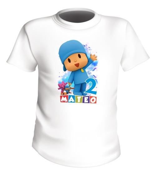 Playeras Familiares Pocoyo Personalizadas Infantil Economica