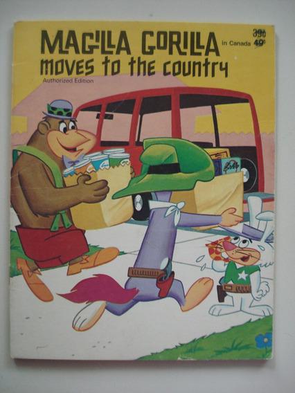 Livro Magilla Gorilla In Canada Hanna Barbera