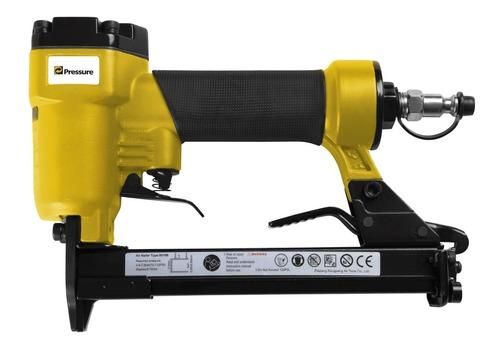 Imagem 1 de 1 de Grampeador Pneumatico Profissional Grampo 6 A16mm 70-110 Psi