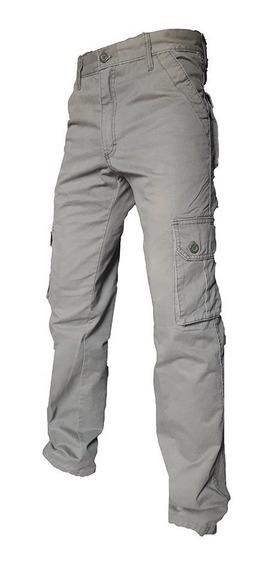 Pantalon Cargo Oportunidad Y Calidad Casual Recto