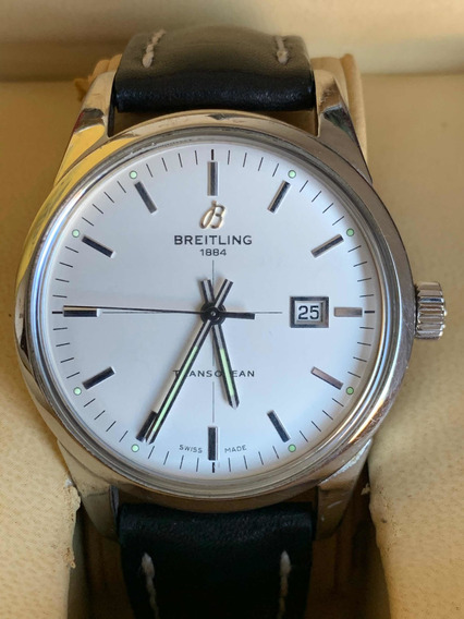 Breitling Transocean Automatico 42mm 9cito Cart Sub Rol Dayt