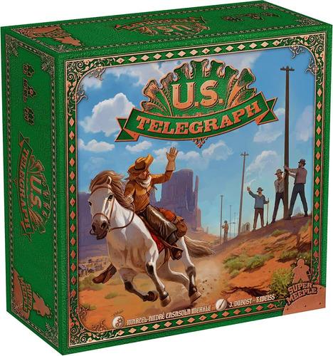 Super Meeple U.s. Telegraph Board Game