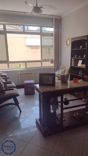 Apartamento Com 2 Dorms, Aparecida, Santos - R$ 635 Mil, Cod: 19168 - V19168