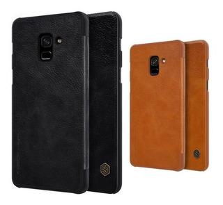 Capa Nillkin Qin Sansung Galaxy A8 Plus 2018 A730f