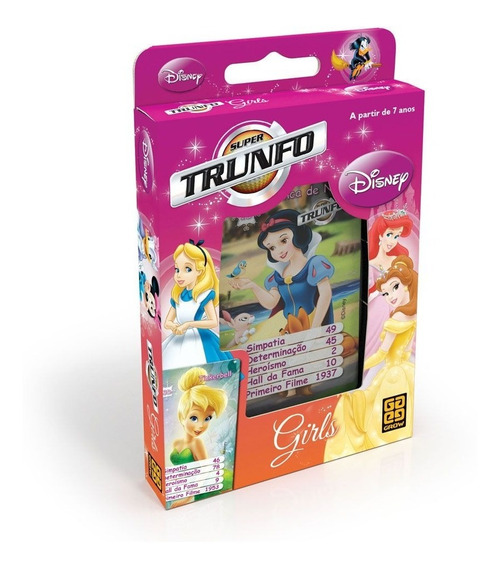Super Trunfo Girls Disney Grow