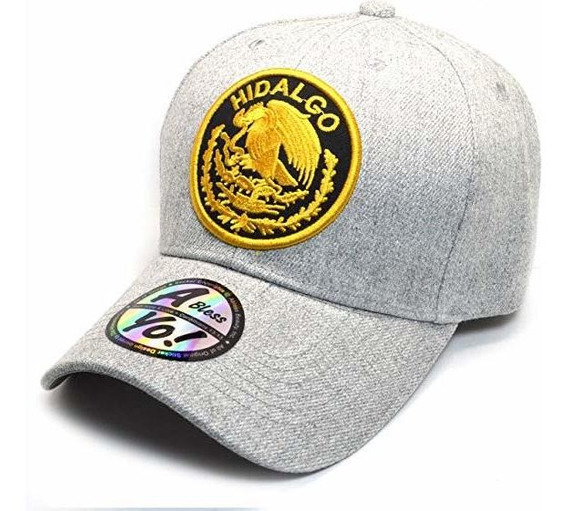 Ablessyo Mexican Hat Mexico Federal Logo Embroidered Curved
