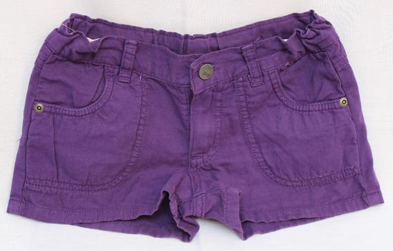 Short Pantalon Corto De Nena Talle 5/6