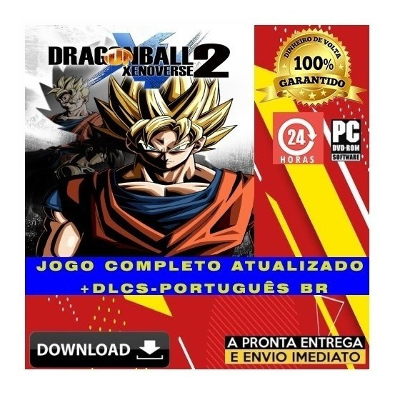 Dragon Ball Xenoverse 2 Pc - Digital + Todas Dlcs + Brinde