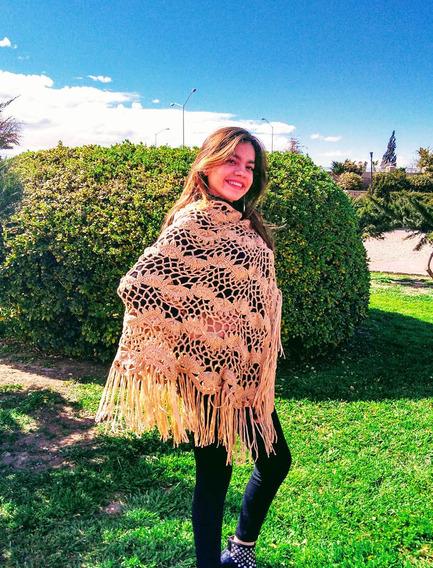 Chal Tejido Crochet. Envío Gratis