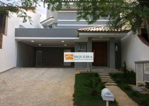 Casa Residencial À Venda, Condomínio Granja Olga, Sorocaba. - Ca0546