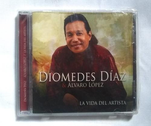 Diomedes Díaz La Vida Del Artista Cd Original Nuevo Sellado