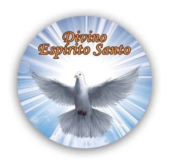 Adesivo Divino Espírito Santo Igreja Católica Paróquia #0511
