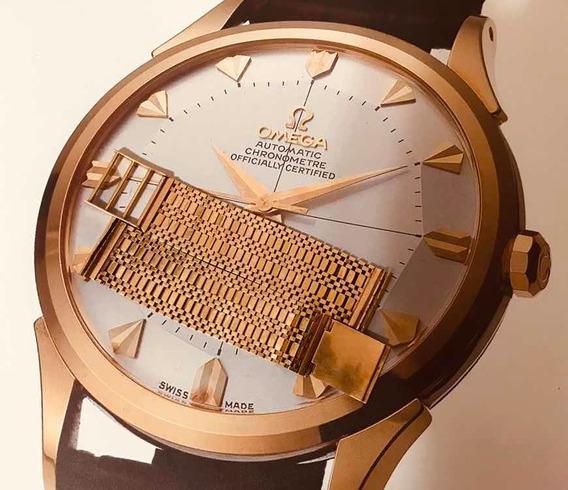 - Pulseira Em Ouro Sólido Vintage 18k Para Relogios Ômega