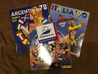 Albumes Album Panini De Fútbol 1970 - 2010 Colección