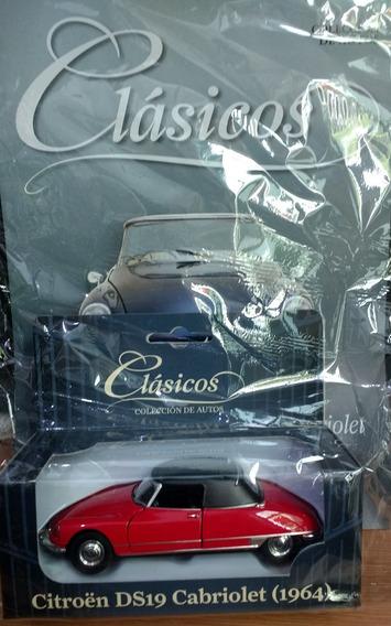 Colección Autos Clásicos - Citroen Ds19 Cabriolet 1964