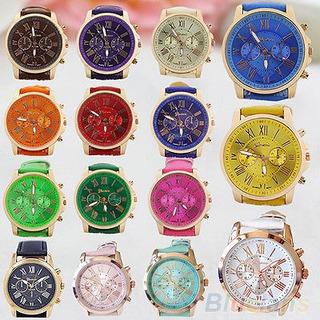 Reloj Hombre - Analogico - Nros Romanos Colores - Oferta!!