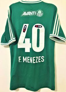 Camisa Palmeiras Usada Jogo Brasileiro 2013 Série B
