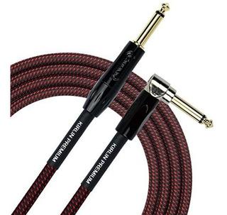 Kirlin Cable De Ángulo Recto A Recto Para Instrumento, Br,
