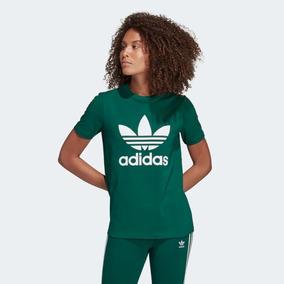 ab0ae1737f8 Camiseta Feminina Adidas - Camisetas Manga Curta Feminino no Mercado ...