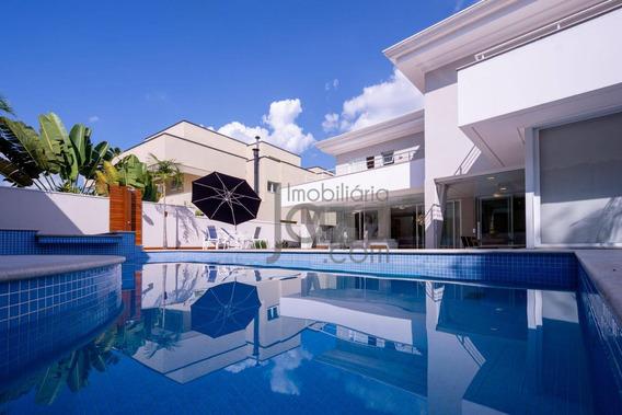 Casa Residencial À Venda, Alphaville Dom Pedro, Campinas. - Ca3064