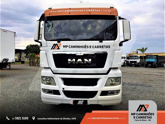 Caminhão Man 29.440 Tgx 6x4 Ano 2012 Top,