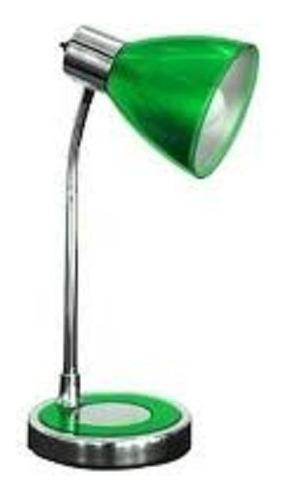 Pack X 2 Lamparas Velador Acrilico Flexible Color Verde