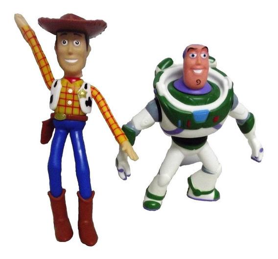 Bonecos De Vinil Toy Story - Woody E Buzz