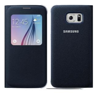 Promoción - Flip Cover S View - Galaxy S6 Original - 2$