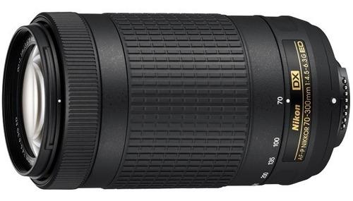 Imagen 1 de 2 de Lente  Af-p Dx Nikkor 70-300mm F/4.5-6.3g Ed Nuevo