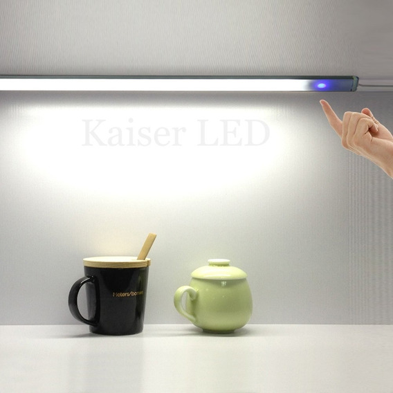 Dimmer Táctil Touch Ideal Bajo Alacena Para Tira Led 12-24v 8a Capacitivo Kaiser Led