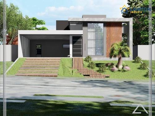 Casa Com 3 Dormitórios À Venda, 232 M² Por R$ 1.600.000,00 - Figueira Garden - Atibaia/sp - Ca2200