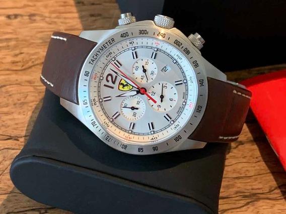 Relógio Scuderia Ferrari Com Maquinário Suíço Ronda 5030d