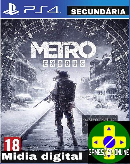 Metro Exodus - Playstation 4 Envio Hoje Legendado Português