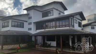Casa Na Praia De Camboinhas Frente Mar. - Ca0232