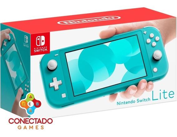 Nintendo Switch Lite Turquesa Pronta Entrega