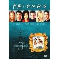 Dvd Friends Terceira Temporada Completa (4 Dvds)