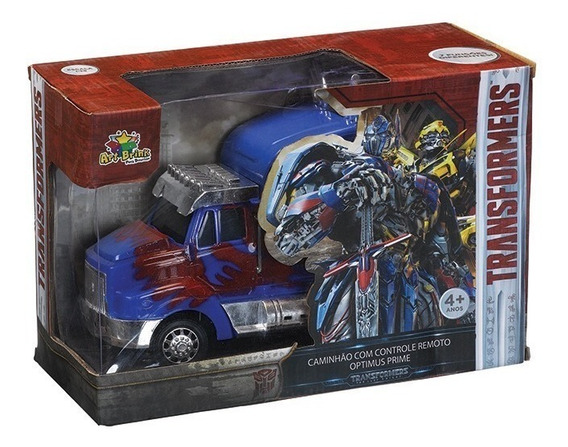 Caminhão Carrinho Controle Remoto Optimus Prime 2.4ghz