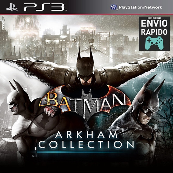 Batman Arkham Collection 3 Jogos Originais - Jogos Ps3
