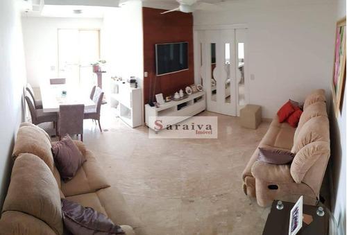 Apartamento À Venda, 92 M² Por R$ 461.000,00 - Vila Mussolini - São Bernardo Do Campo/sp - Ap3913