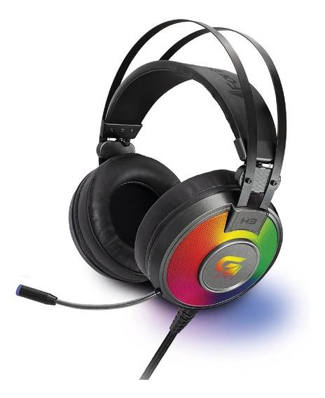 Fone Headset Gamer Rgb G Pro H3 Cinza Fortrek