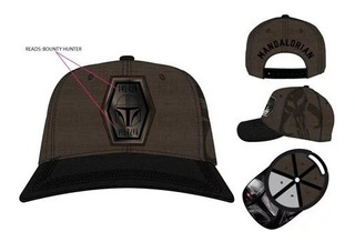 Pre-venta The Mandalorian: Mando Pre-curve Snapback Hat