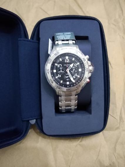 Reloj Nautica N19508g Plateado