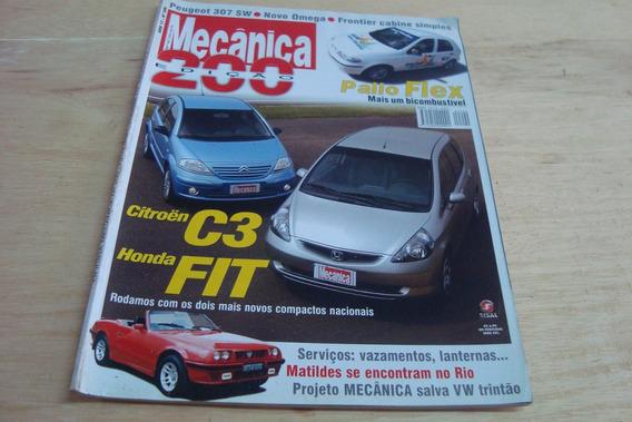 Revista Oficina Mecanica 200 / Palio Flex Peugeot Omega