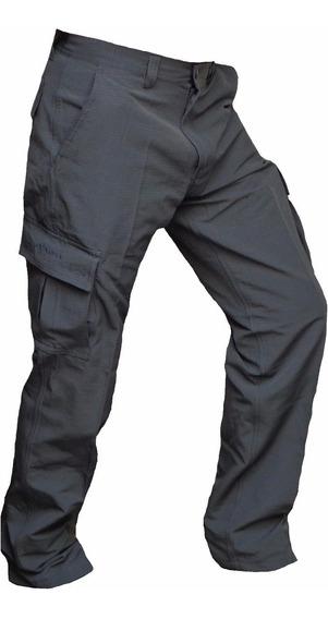 Pantalon Cargo Ripstop Antidesgarro Policia Hombre Tactico