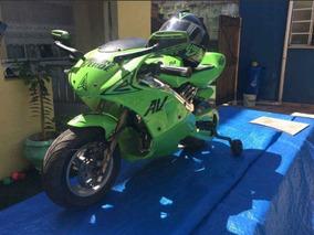50cc Mini Moto Kawasaki Motor 2 Tempos