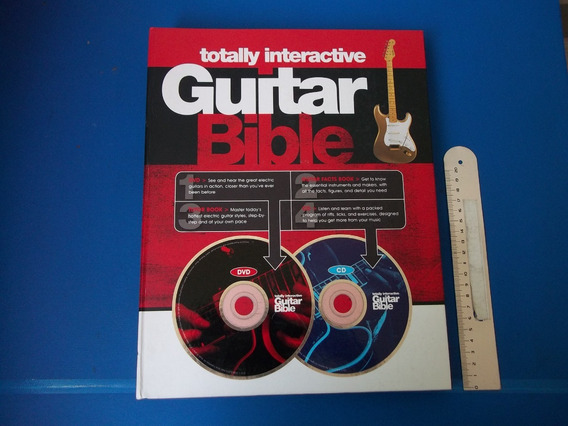 Bíblia De Guitarra Totalmente Interativa Davehunter 1dvd 1cd